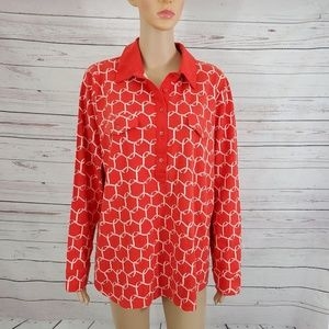 Talbots Blouse Top Size 3X New